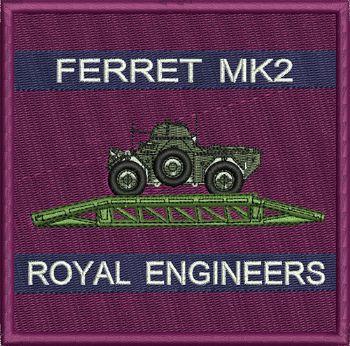 Ferrets with Bridge Badge